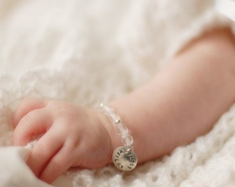 Personalized Baby Blessing Bracelet