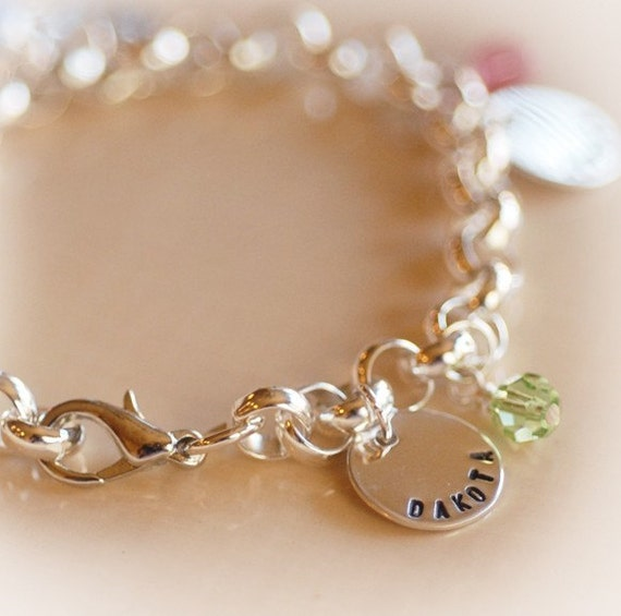 items similar to grandmother personalized charm