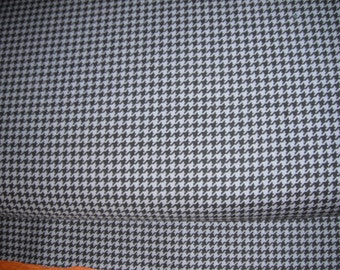Michael Miller tiny hounds tooth grey
