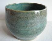 Mermaid Blue Ceramic Vase