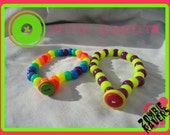 Button Bracelet Set