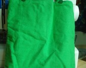 Tall Green Tote