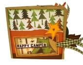 Happy Camper Paper Bag Scrapbook