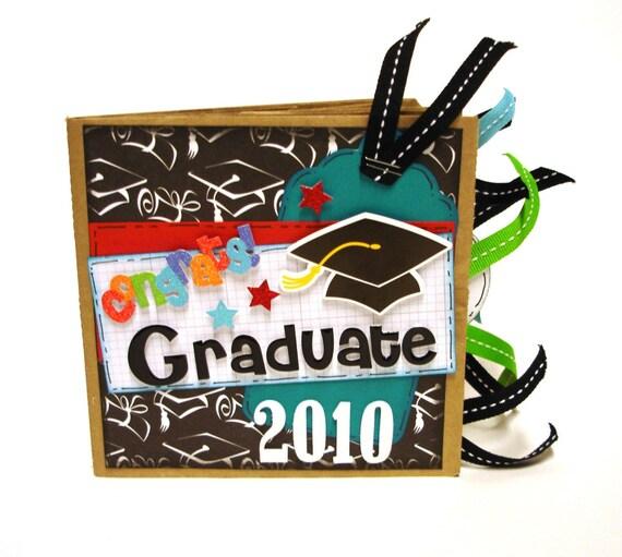 Graduation 2010 Paper Bag Scrapbook