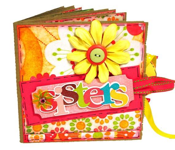 Sisters Paper Bag Scrapbook