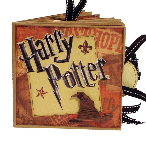 Harry Potter Scrapbook -  Paper Bag Album