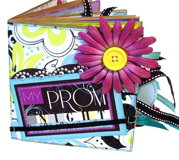 Prom Scrapbook -  Dance Paper Bag Album