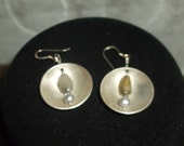 Fine Silver handcrafted earrings