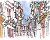 Sevilla - 8x10 print