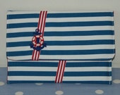Nautical Clutch Purse or Bag