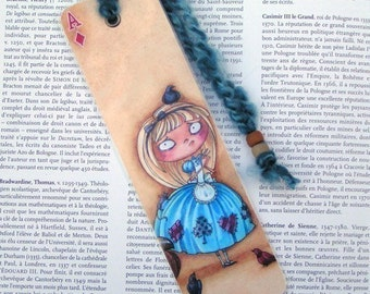 Alice - Ace of Diamonds - Bookmark