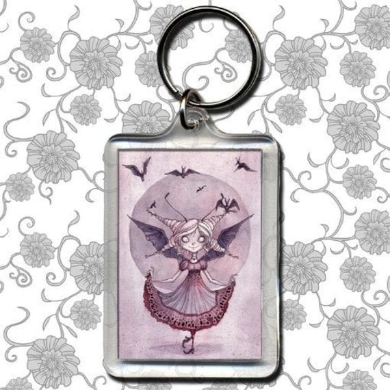 Little Batty Princess - Keychain