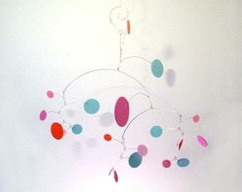 Baby Mobile // Nursery Mobile // Baby Girl Mobile - The Constellation Mobile, in Cupcake