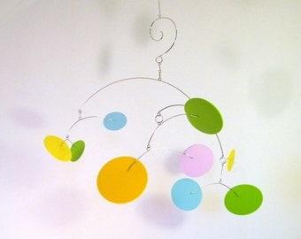 Modern Kinetic Mobile, Baby Mobile, Nursery Decor, Modern Home Decor - The Big Dipper, Medium, in Happy