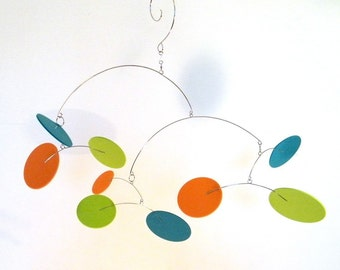 Colorful Baby Mobile, Kids Room Decor, Baby Shower Gift - The Big Dipper Mobile, Medium, in Lively