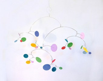 Baby Mobile // Nursery Decor // Crib Mobile // Baby Gift  - The Constellation Baby Mobile, large, in Wildflower