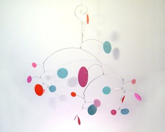 Baby Mobile, Nursery Mobile, Baby Girl Mobile - The Constellation Mobile, in Cupcake
