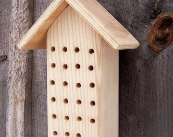 Mason Bee Box Garden Yard