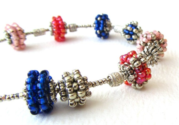 Beadweaving Tutorial No 22 Charm Bead Spacers