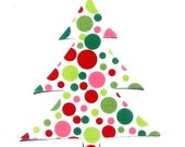 Christmas Tree...Fabric Iron Applique...Fabric By Michael Miller...Last One