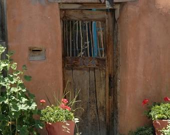 Door to Santa Fe