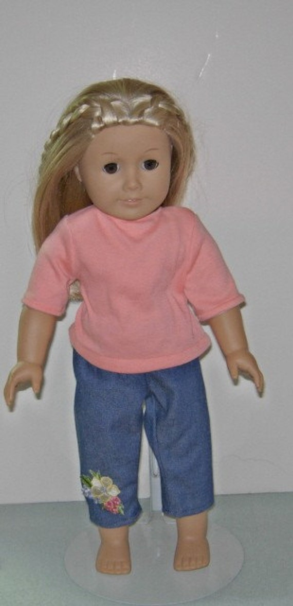 American Girl doll jean and t-shirt outfit for 18 inch dolls
