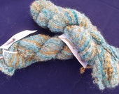 Mohair Blend Boucle, Forest Hues