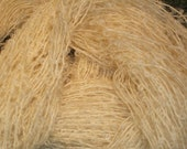 Boucle, natural mohair merino 2 ply blend