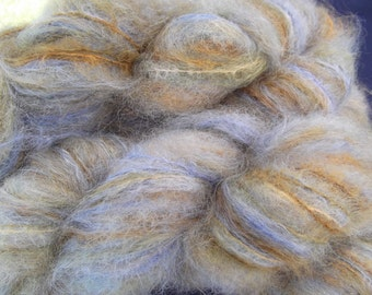 Brushed Mohair,  Tilling Midnight