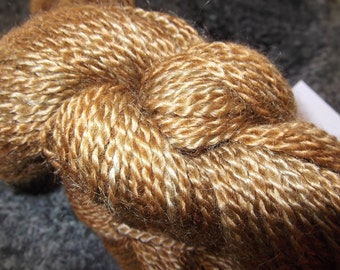 Chestnut mohair merino sport weight yarn