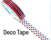 RED and BLUE Dot Tape