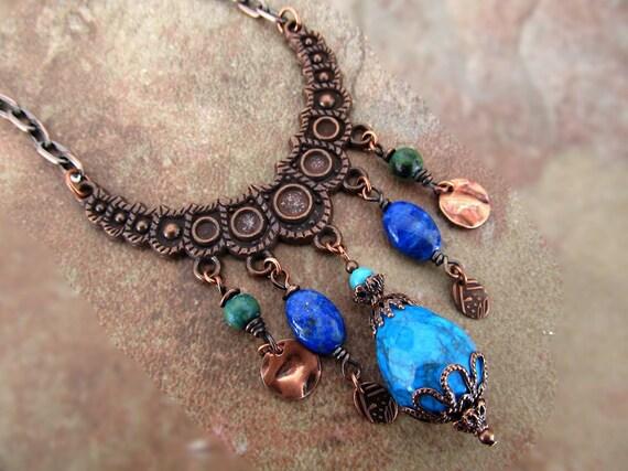Tribal Gypsy necklace