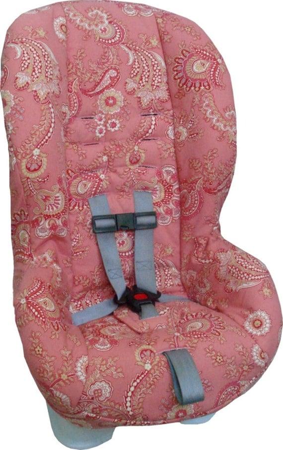 britax marathon replacement car seat cover pink paisley. Black Bedroom Furniture Sets. Home Design Ideas