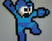 Beadsprite Magnet - Megaman (Rockman) - Megaman - Falling