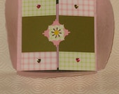Gate-fold Card with Petal-Fold Handmade Paper Envelope