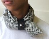 Dog tooth Neckscarf  for men or women unisex