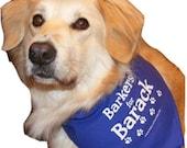 Barkers for Barack Dog Bandana