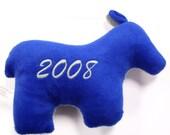Political Dog Toy - Donkey (Democrat)