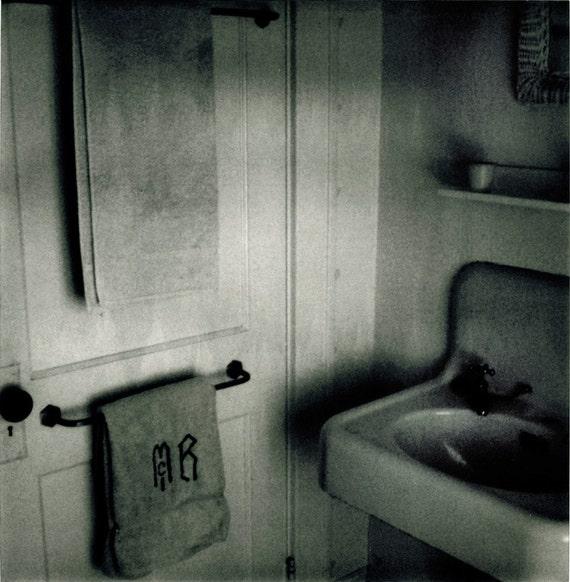 Nice Dirty Bathroom Film Noir Styled Polaroid Print By