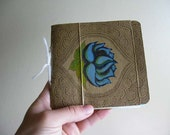 Lotus Thoughts-Upcycled Journal