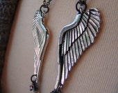 Angel Wing Mother Daughter Necklaces, Best Friend Necklaces, Sisters Necklaces