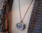 Round Picture Frame Best Friend Necklaces, Mother Daughter Necklaces, Sisters Necklaces