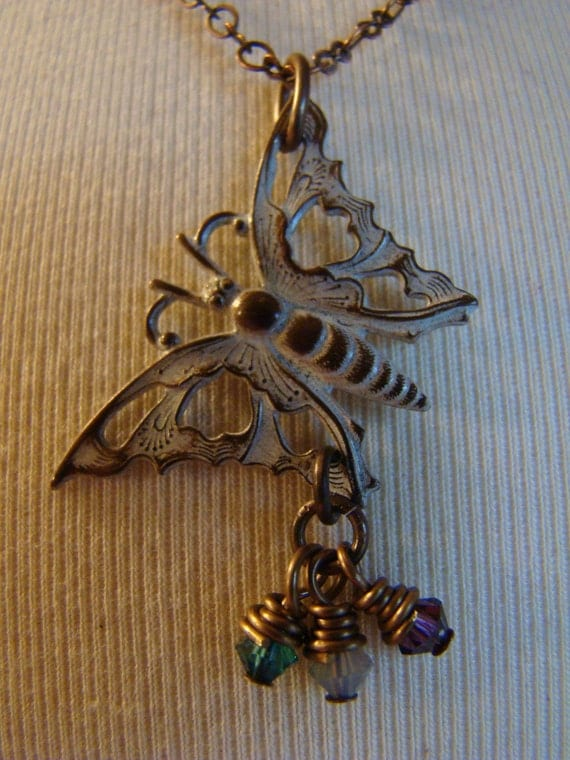 Butterfly Mothers Necklace