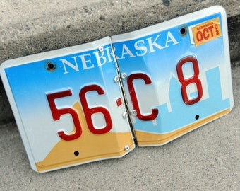 Nebraska license plate photo album