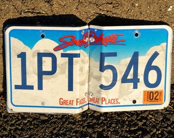 South Dakota license plate photo album