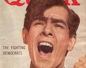 1950s Quick Magazine News Weekly Womens Fashion Johnnie Ray July 21 1952