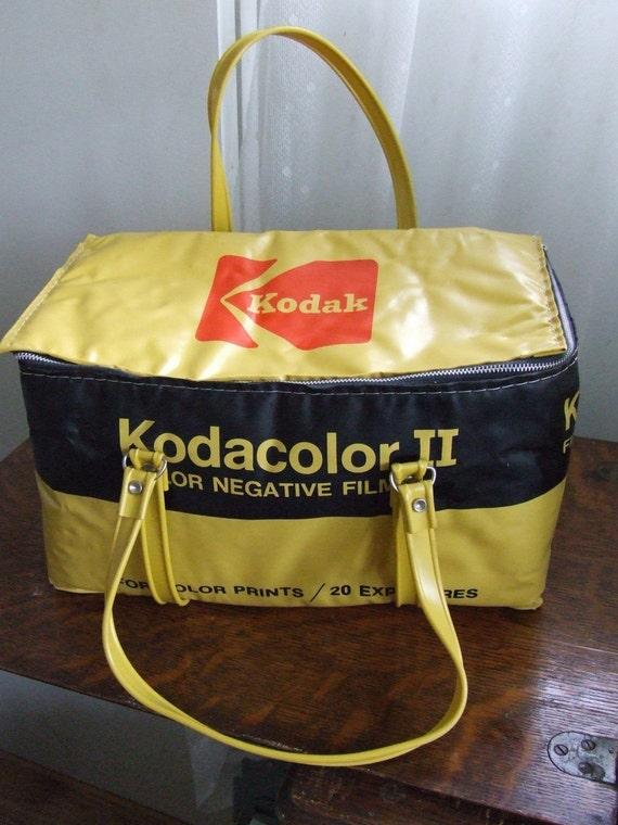 Kodak Insulated Bag Cooler Kodacolor Ii C135 20 Film Camera
