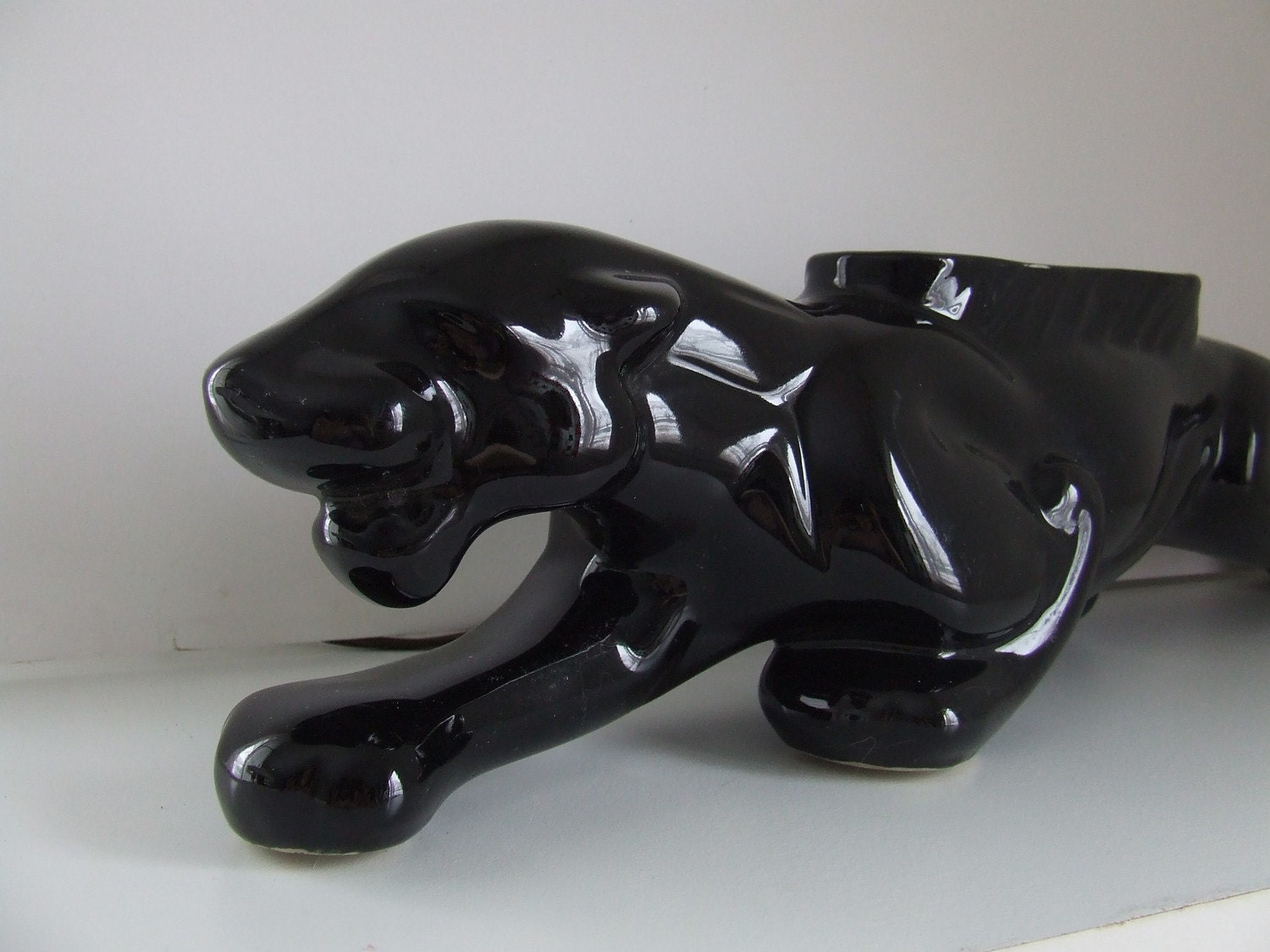 1950s Panther Tv Lamp Planter Eames Mid By Stilettogirlvintage