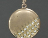 1900's DAS Locket Necklace