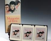 moving sale. Vintage RCA Elvis Presley Memories of Elvis 8 Track Box Set